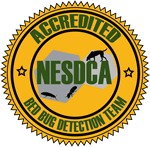 Accredited bed bug detection teams
